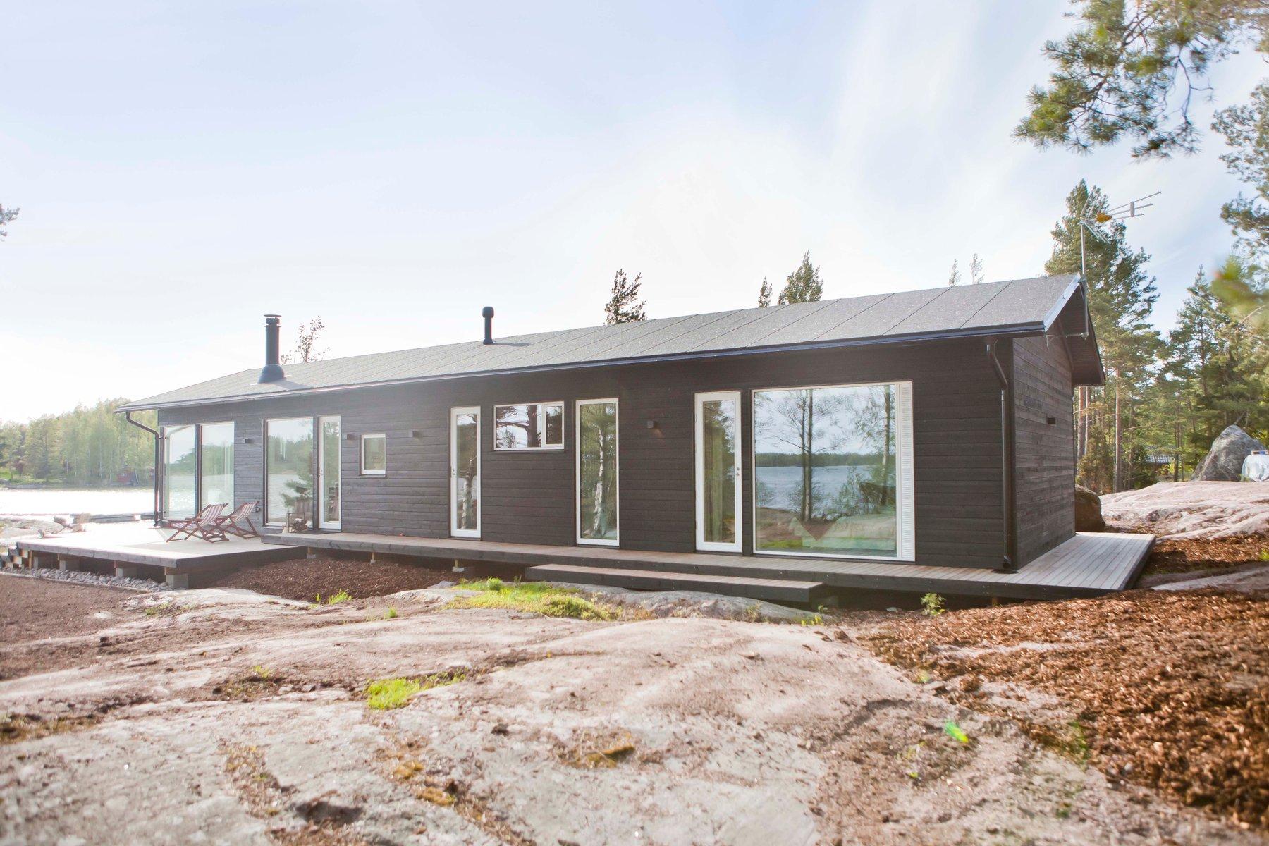 Sunhouse modernit puutalot