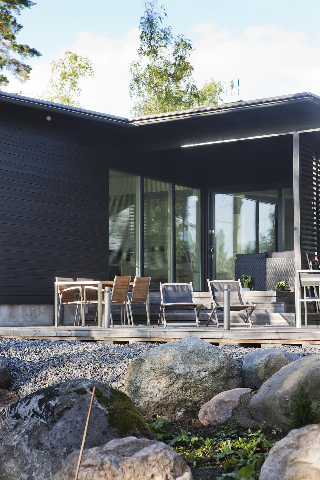 Moderni omakotitalo Järvenpäässä