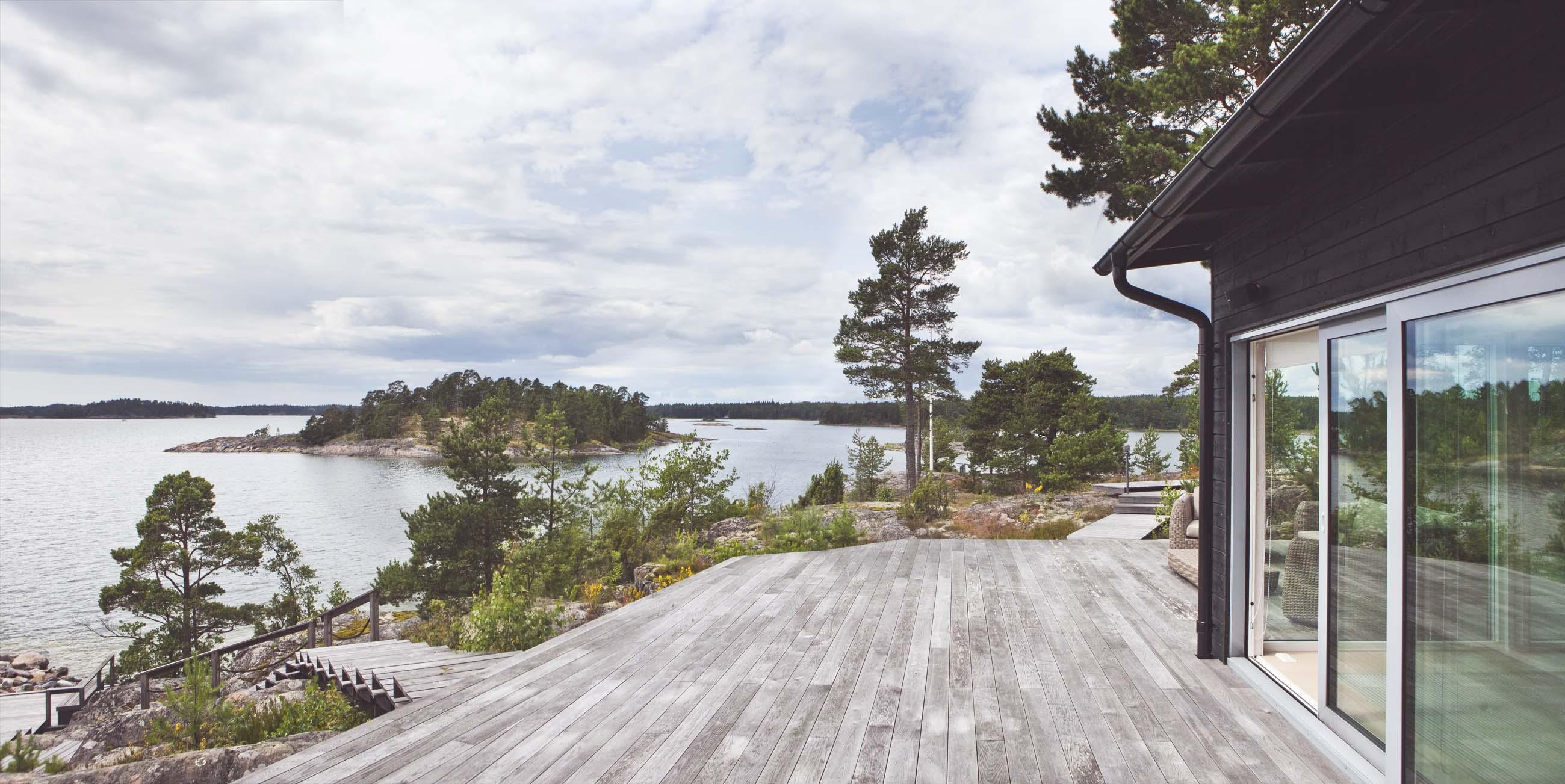 moderni vapaa-ajan asunto Kirkkonummella