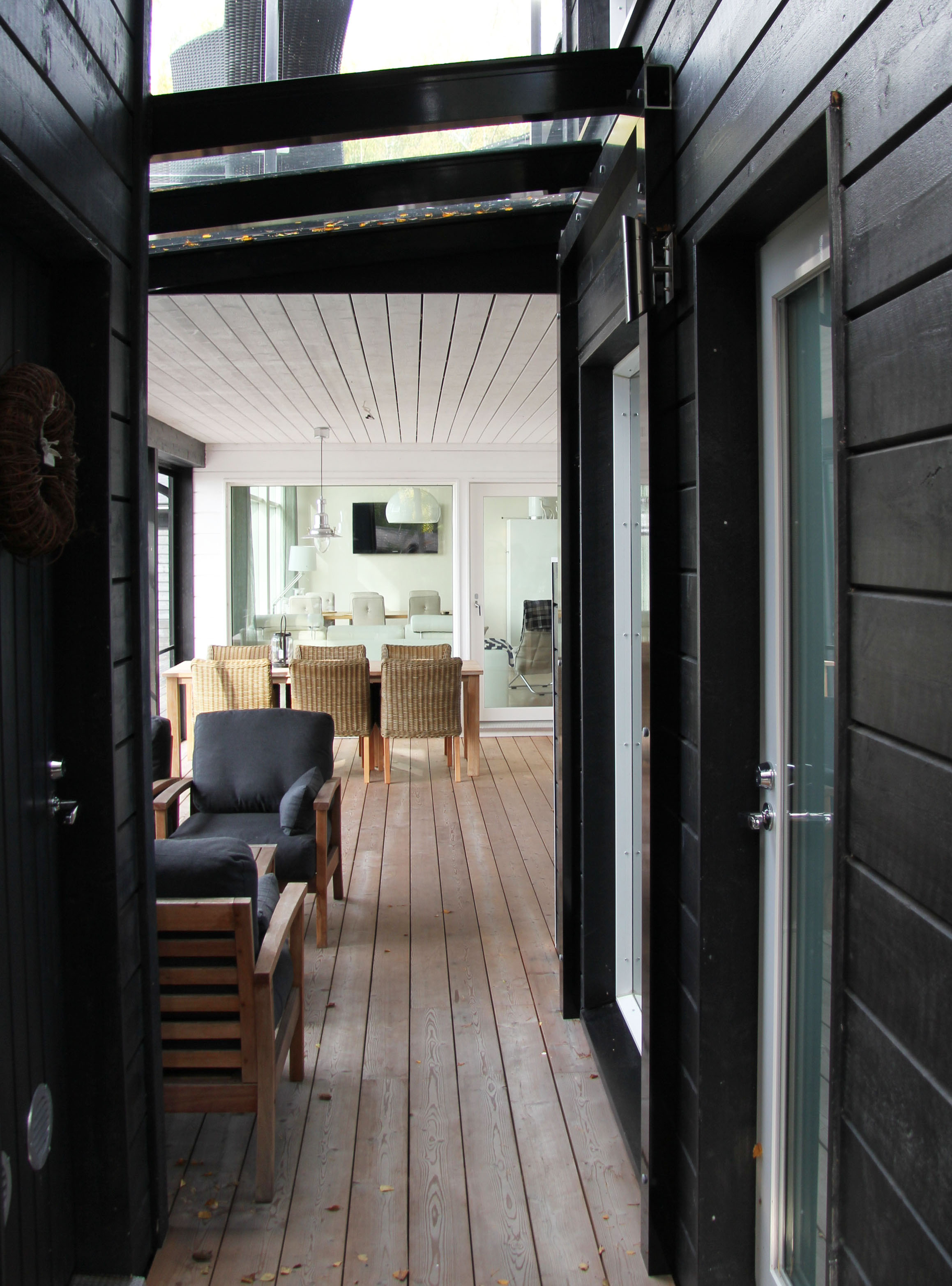 Moderni vapaa-ajan asunto Luvialla