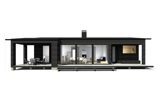 Sunhouse Linjakas talo S380