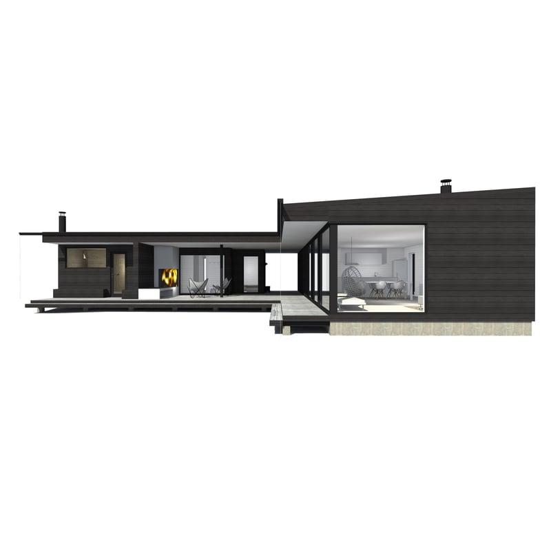 Sunhouse Linjakas talo S450