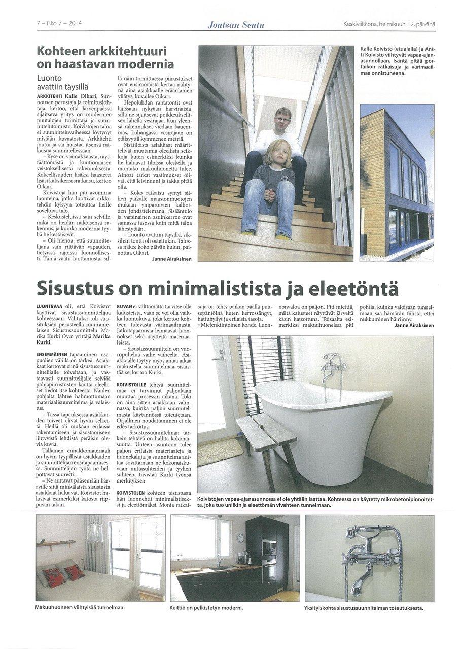 Sunhouse mediassa Joutsan Seutu.jpg