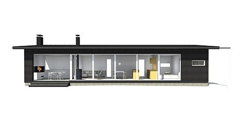 Sunhouse Linjakas talo S170/171 - Moderni vapaa-ajan asunto