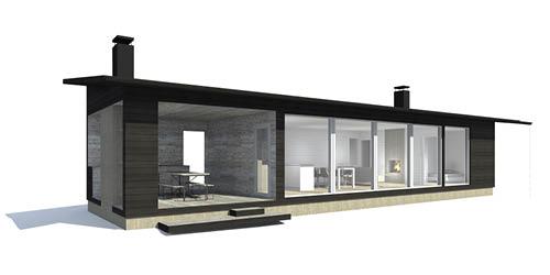 Linjakas talo S180 / S251