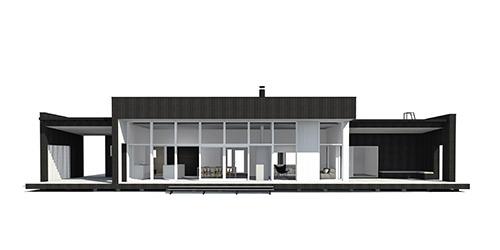 Sunhouse Linjakas talo S600 - Moderni Koti
