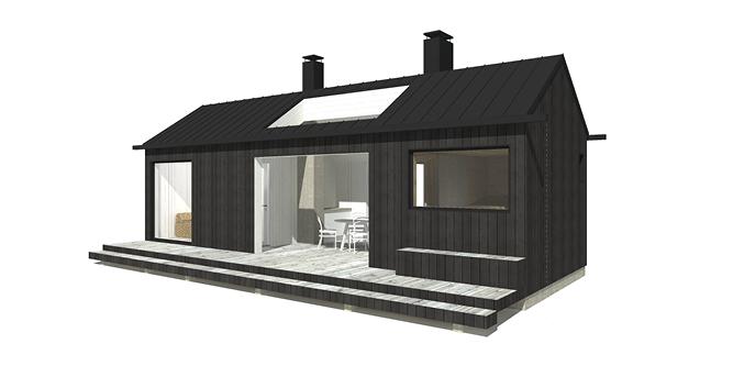 Sunhouse Sauna XS1 - moderni saunarakennus